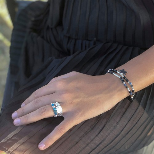 Le bracelet porté avec de la Piétersite